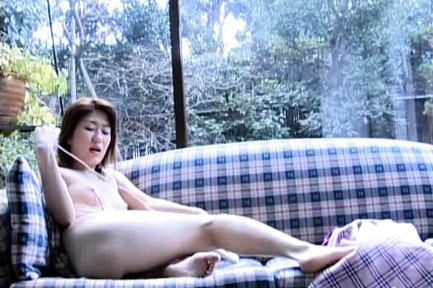 Yui Natsume Asian gets in mouth vibrator she will have in pussy
