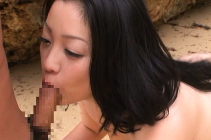 Minako komukai. Minako Komukai Asian with big ass blowjob penish and is fingered
