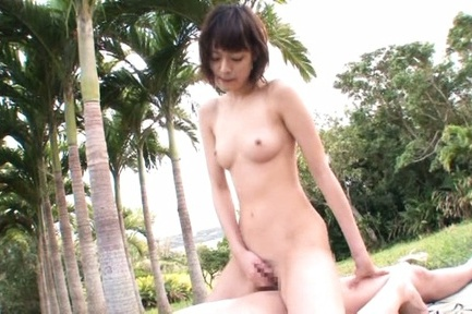 Mikoto tsukawa. Mikoto Tsukawa Asian strokes dick while slit