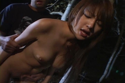 Beautiful Asian Erika´s pussy used by two hard cocks